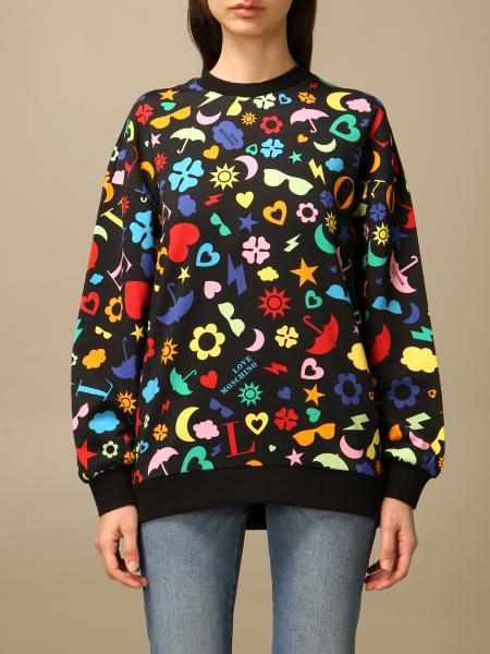 Sweatshirt women Love Moschino