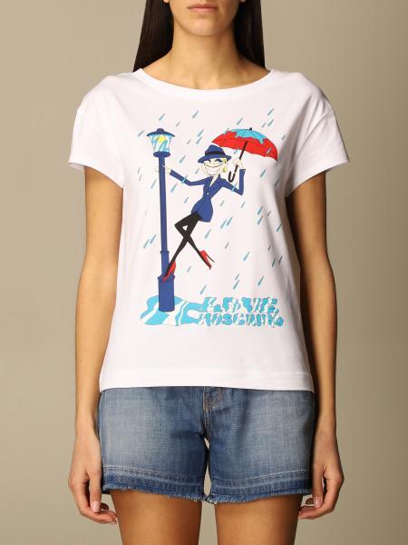 Love Moschino: T-shirt femme Love Moschino