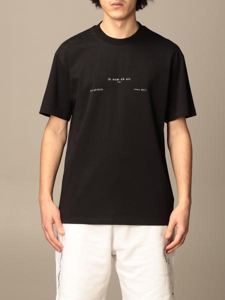 Ih Nom Uh Nit: T-shirt Ih Nom Uh Nit in cotone con stampa logo