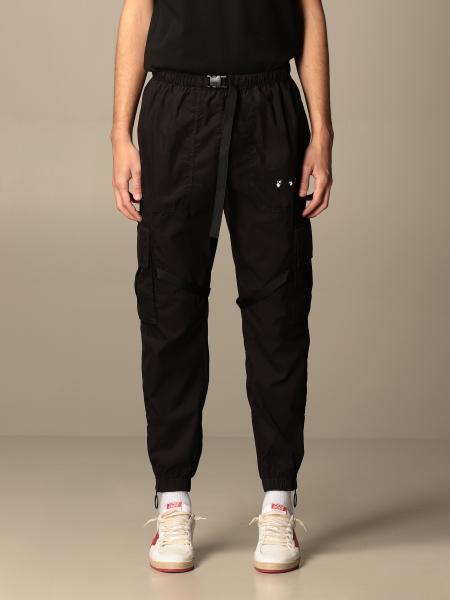 Off White nylon cargo pants