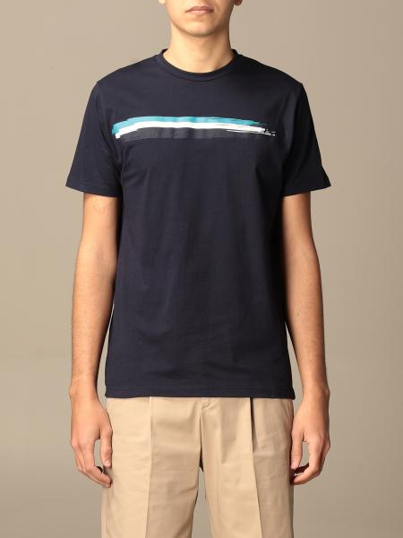 Alessandro Dell'acqua men: Alessandro Dell'acqua t-shirt in cotton with print