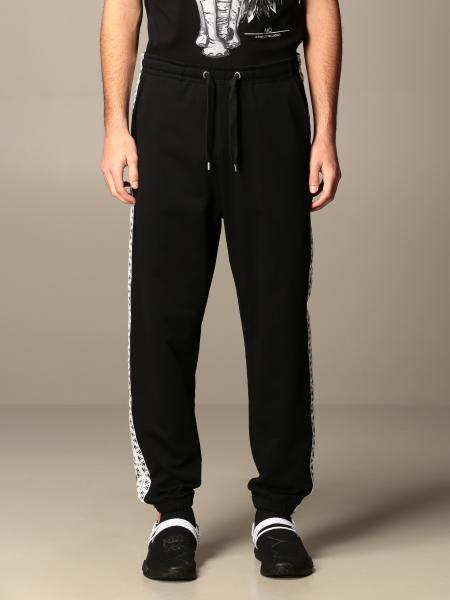 Alessandro Dell'acqua men: Alessandro Dell'acqua jogging trousers in cotton