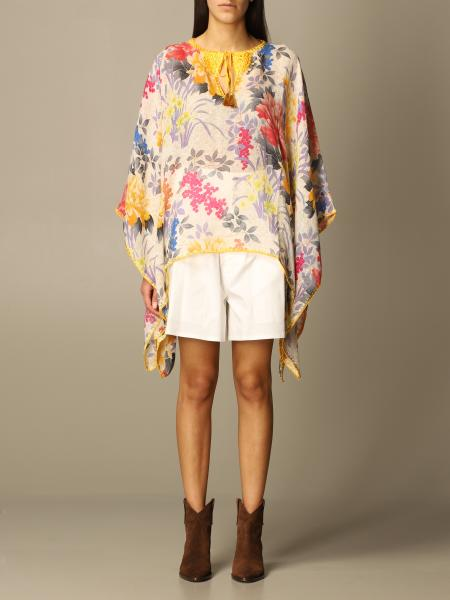 Etro kaftan with floral pattern