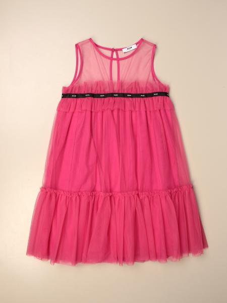 Msgm Kids dress in tulle