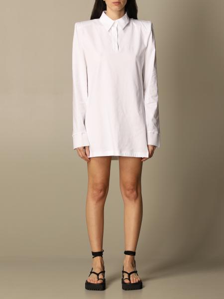 The Attico: The Attico polo dress in basic cotton