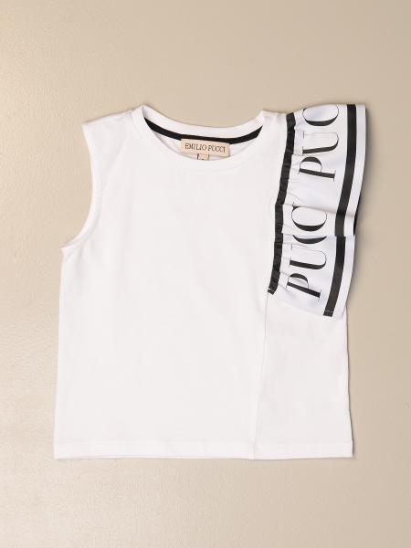 Emilio Pucci: Camiseta marinera niños Emilio Pucci