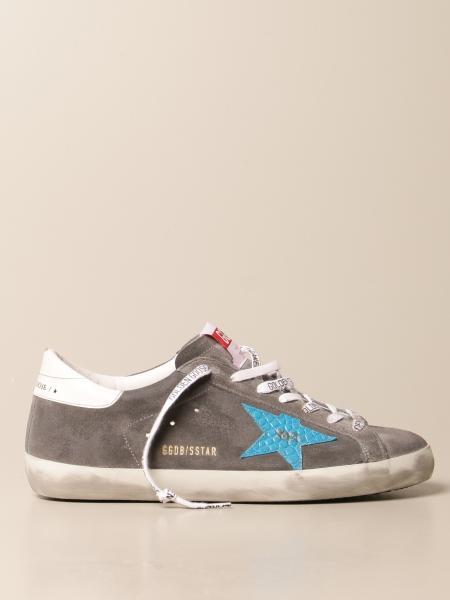 Sneakers Superstar classic Golden Goose in pelle e camoscio