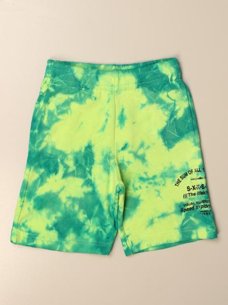 Pantaloncino jogging Diesel in cotone tie dye