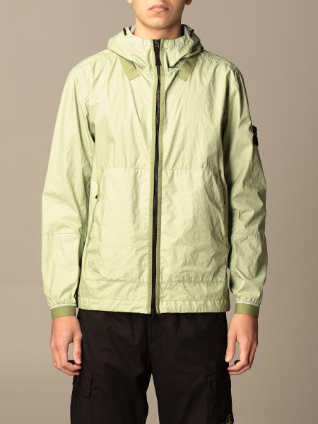 Stone Island nylon jacket with hood