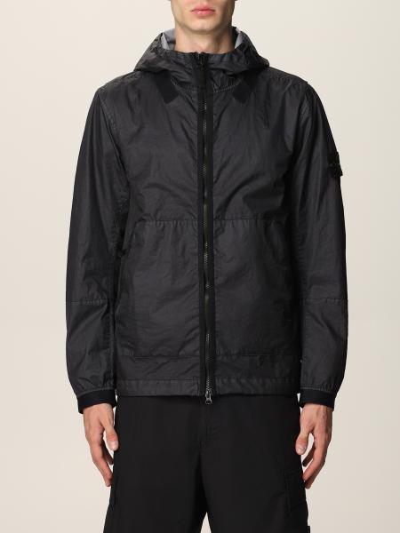 Stone Island nylon jacket with hood