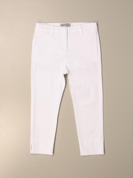 Simonetta classic trousers with welt pockets