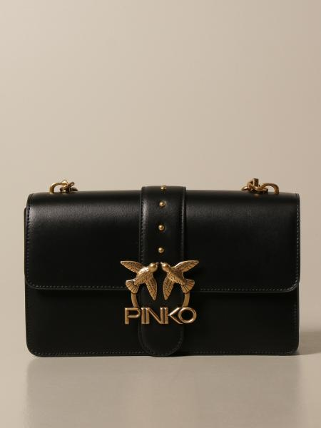 Love Classic Icon Simply Pinko leather bag