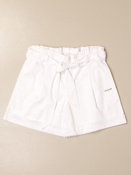 Pinko wide high-waisted shorts