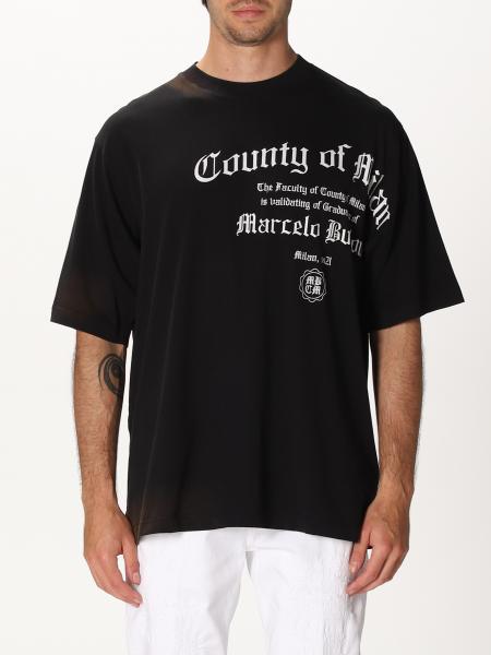 T-shirt Marcelo Burlon con big logo