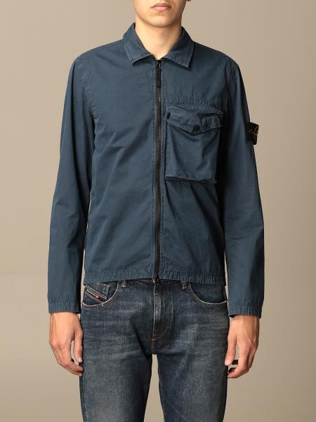 Stone Island nylon jacket with zip