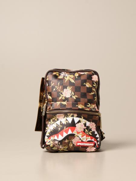 Sprayground: Sprayground bag in vegan leather with sharkflower print