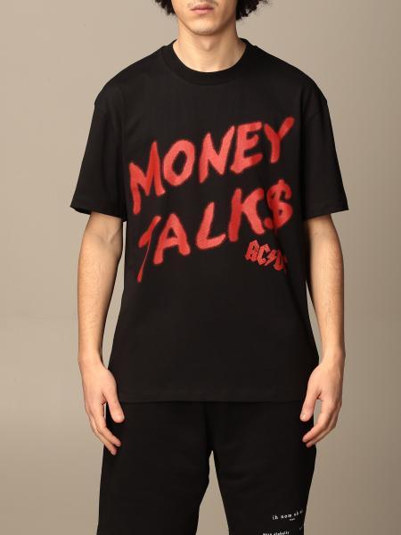 Ih Nom Uh Nit: T-shirt Ih Nom Uh Nit in cotone con stampa money