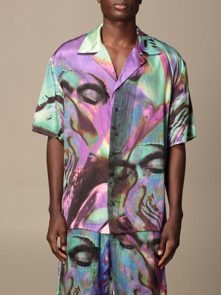 Ih Nom Uh Nit: Camicia Ih Nom Uh Nit stampata a maniche corte