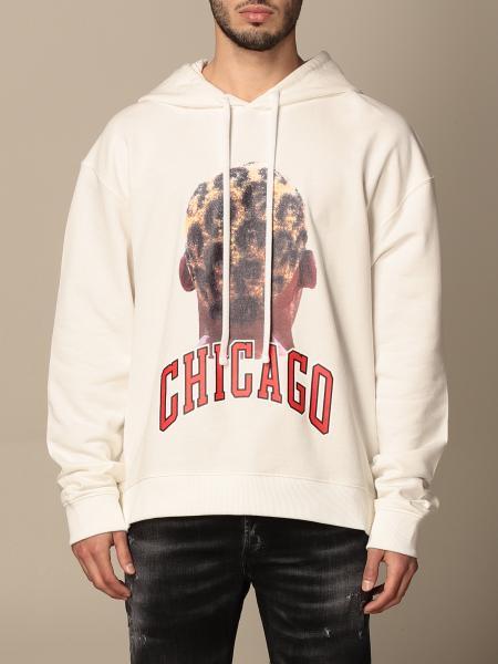Ih Nom Uh Nit: Felpa Ih Nom Uh Nit in cotone con stampa Chicago