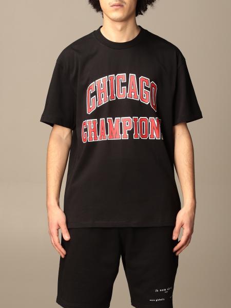Ih Nom Uh Nit: T-shirt Ih Nom Uh Nit in cotone con stampa Chicago