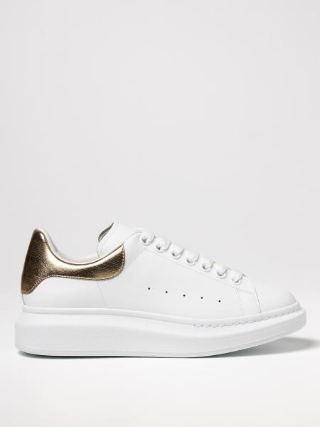 Alexander Mcqueen: Sneakers Alexander McQueen in pelle con logo