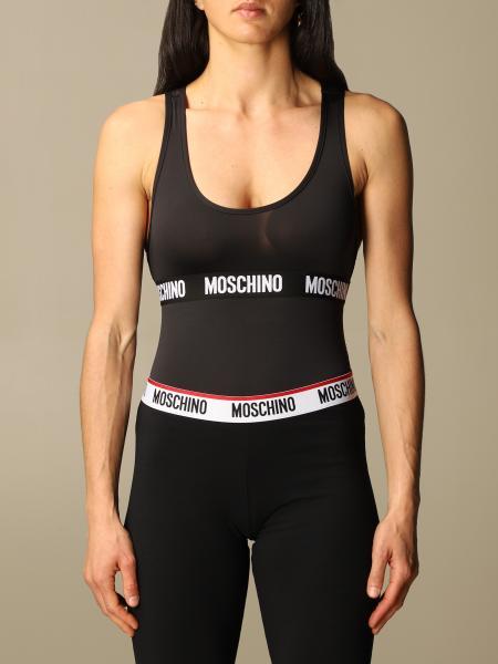 Moschino ЖЕНСКОЕ: Боди Женское Moschino Underwear