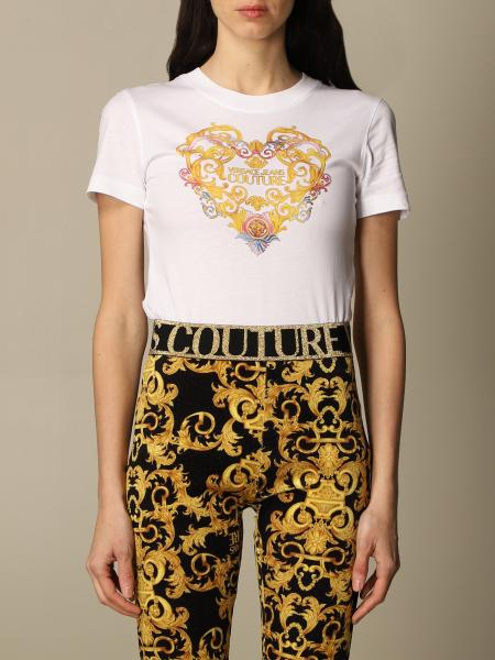 Versace Jeans Couture: T-shirt Versace Jeans Couture con stampa barocca