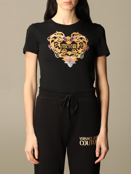 Versace Jeans Couture: T-shirt femme Versace Jeans Couture