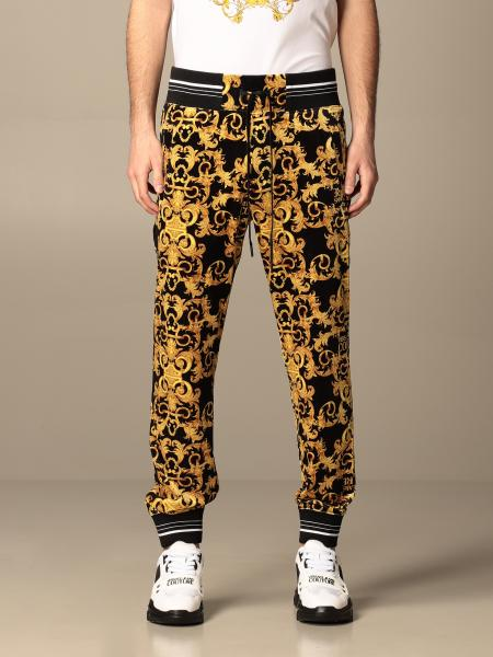 Versace Jeans Couture: Pantalone jogging Versace Jeans Couture con stampa baroque