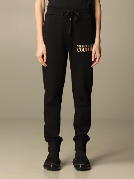 Versace Jeans Couture: Pantalone jogging Versace Jeans Couture in cotone con logo
