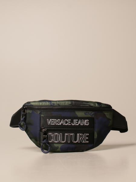 Versace Jeans Couture belt bag in camouflage nylon