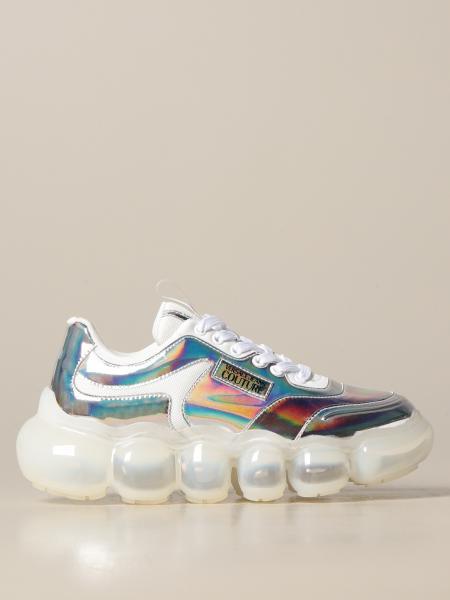 Sneakers Versace Jeans Couture in pelle sintetica specchiata