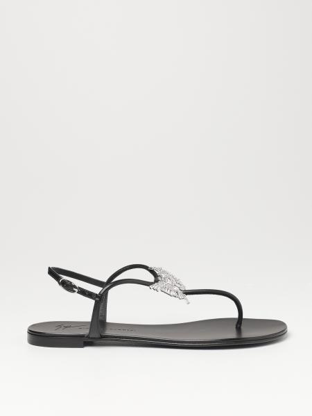 Flache sandalen damen Giuseppe Zanotti Design
