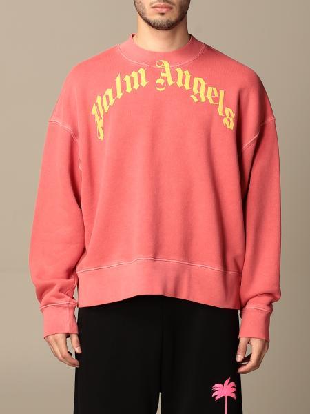 Palm Angels: Palm Angels cotton sweatshirt with logo