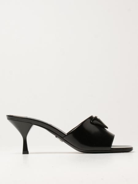 Flache sandalen damen Prada