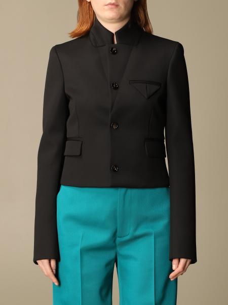 Bottega Veneta women: Bottega Veneta virgin wool jacket