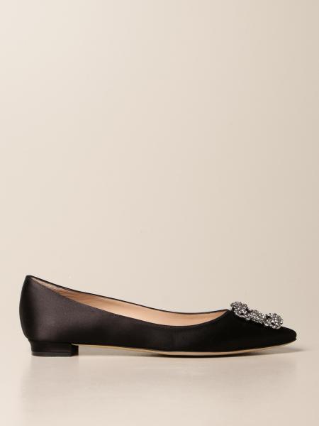 Manolo Blahnik: 芭蕾平底鞋 女士 Manolo Blahnik