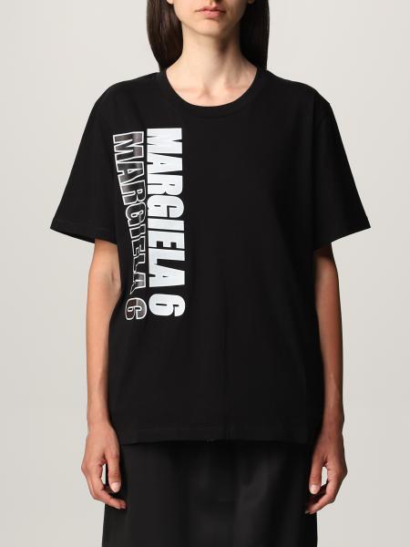 Mm6 Maison Margiela für Damen: T-shirt damen Mm6 Maison Margiela
