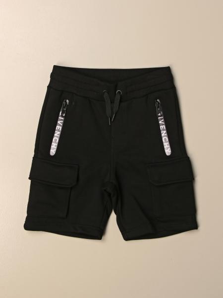 Pantaloncino jogging Givenchy con zip logate