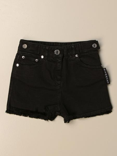 Givenchy denim shorts with big logo
