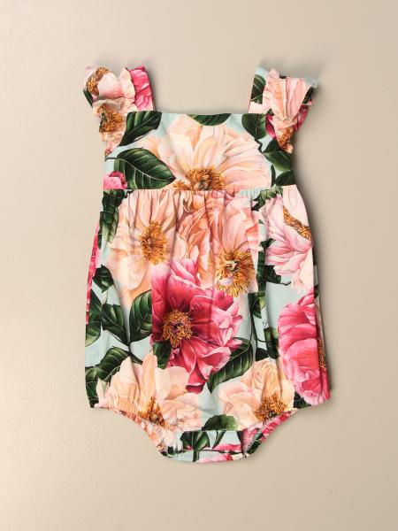 Dolce & Gabbana romper with floral pattern