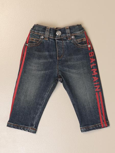 Balmain 5-pocket jeans with logo