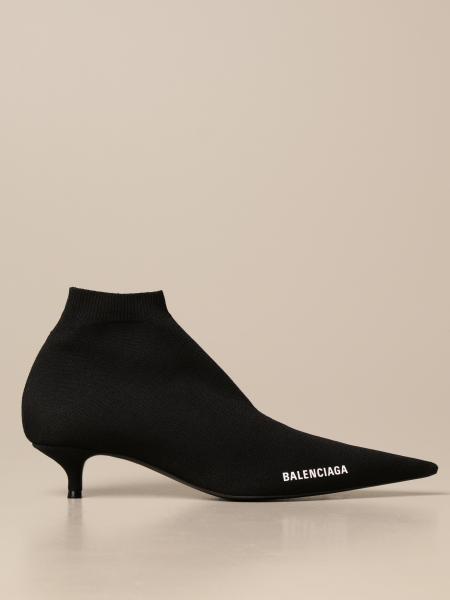 Stivaletto slip on Balenciaga con logo