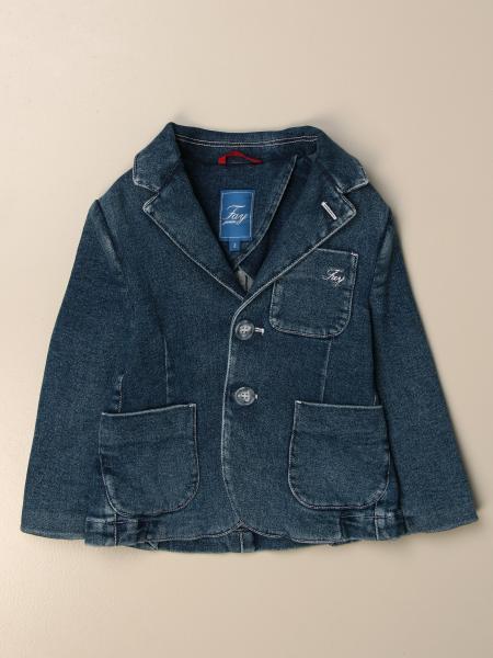 Fay single-breasted denim jacket