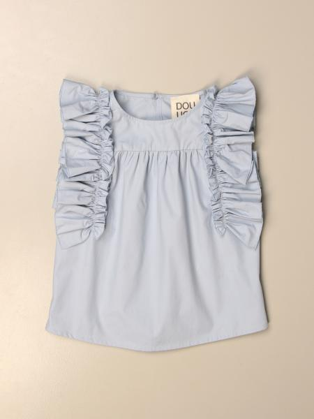 Douuod: Douuod top with ruffles