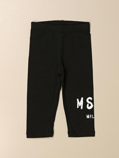 Leggings Msgm Kids stretch con logo