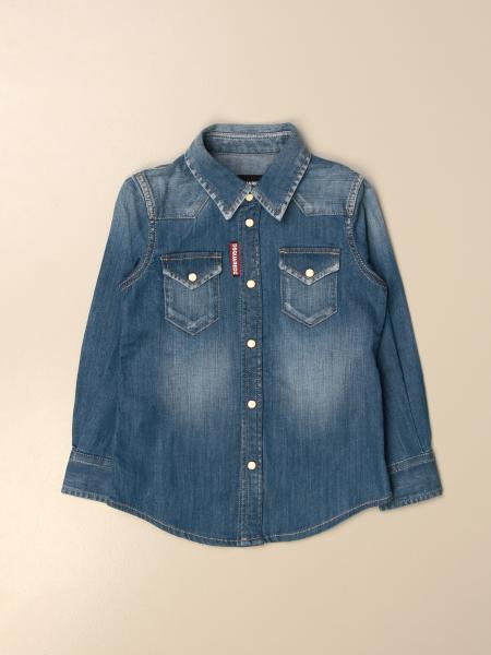 Dsquared2 Junior denim shirt