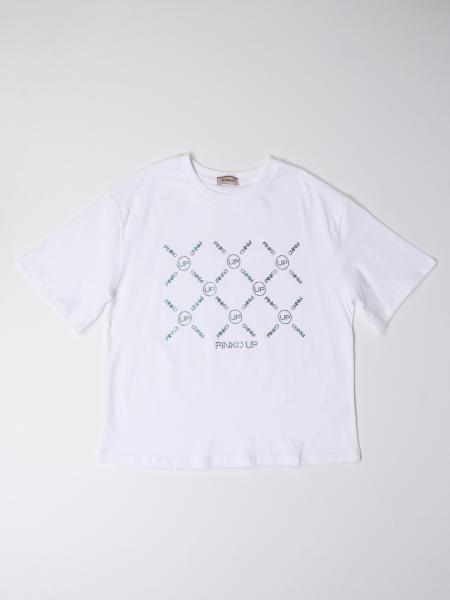 T-shirt Pinko in cotone con stampa