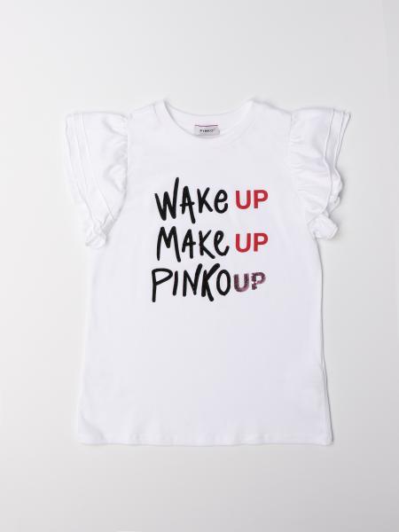T-shirt Pinko in cotone con logo