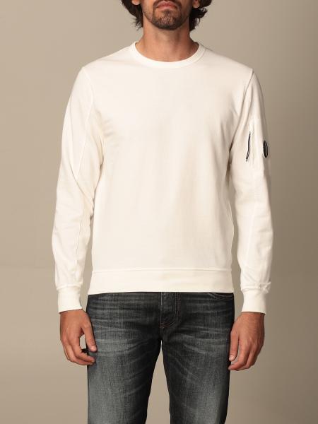 Crewneck sweatshirt C.p. Company with lens